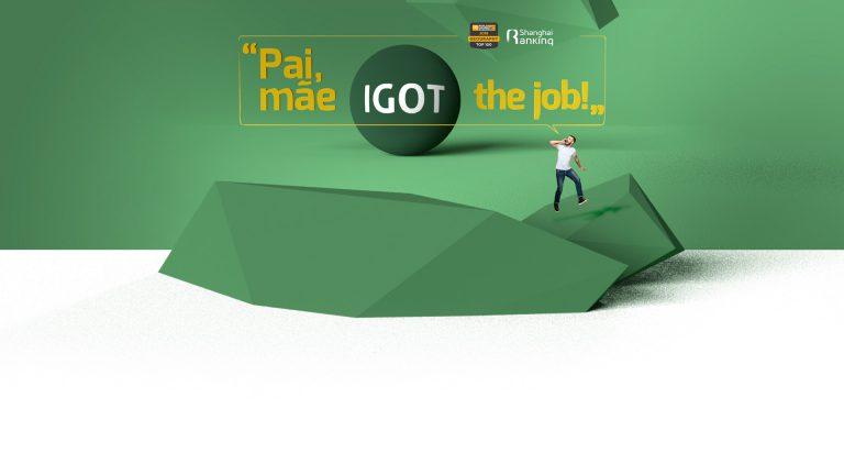 IGOT the job!